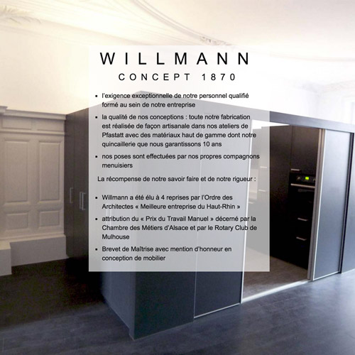Site WordPress personnalisé : willmann.fr